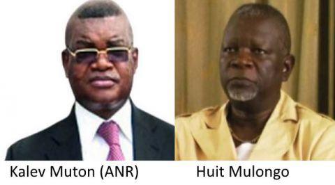 Kalev Mutond (ANR) et Huit Mulongo (emprisonné illegalement)