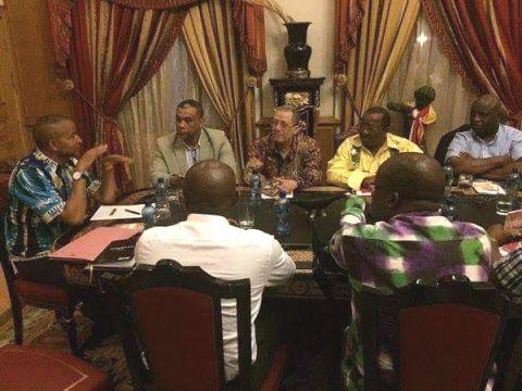 Rencontre entre les leaders du G7 et Moise Katumbi