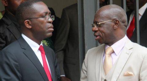 Matata Mponyo et Albert Yuma