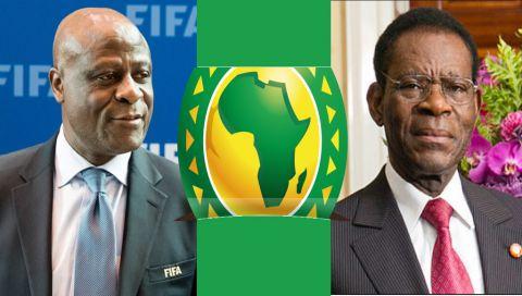 Constant Omari (CAF/FIFA), Président Teodoro Obieng Nguema Mbasogo