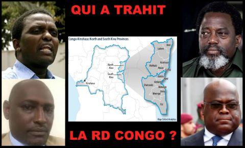 Azzarias Ruberwa, Moise Nyarugabo, Joseph Kabila, Felix Tshisekedi