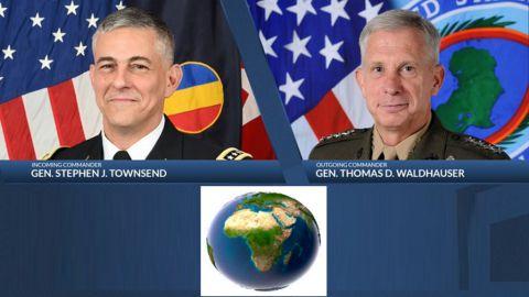 Gen. Corps des marines, Thomas Waldhauser et Gen. Stephen Townsend