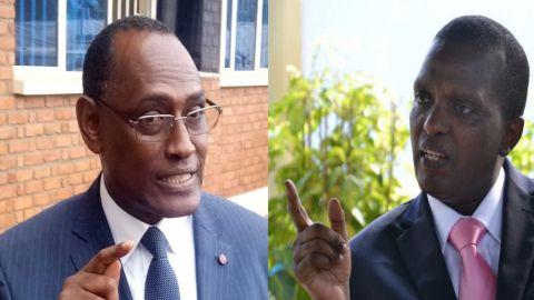 Moise Nyarugabo et Azarias Ruberwa