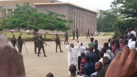 Brutalité Policière en RDC-Kinshasa; le 12-31-2017