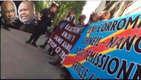Revolte de Congolaise en Europe contre le reportage des elections