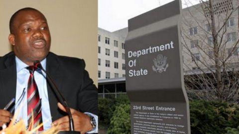 Cornelius le Nangaa au Departement d'Etat Americain