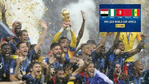 Equipe Nationale Francaise - Coupe du Monde - FIFA 2018