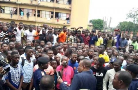 Les etudiants a Kinshasa, RDC