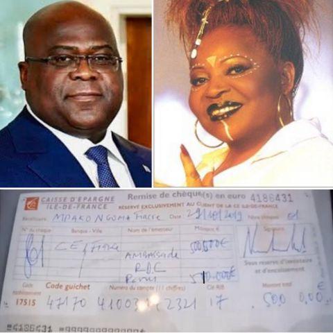 Felix Tshisekedi Tshilombo et Joséphine Kama Dabany