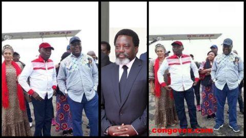 Vital Kamerhe, Felix Tshisekedi, Joseph Kabila