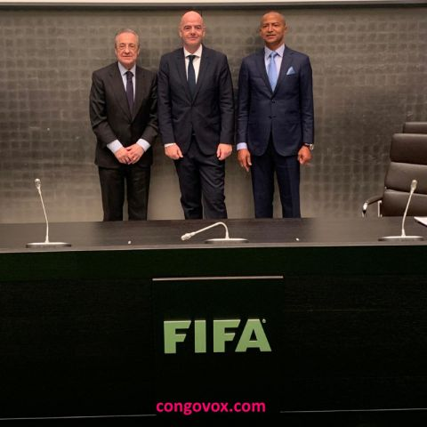 Real Madrid CF, Florentino Perez; Gianni Infantino, FIFA; TP Mazembe, Moise Katumbi