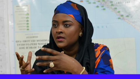 la sénatrice Francine Muyumba