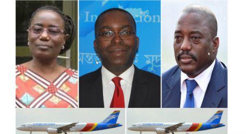Jaynet Kabila, Matata Mponyo, Joseph Kabila