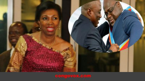 Jeannine Mabunda Lioko, première femme élue à la tête de l'Assemblée nationale