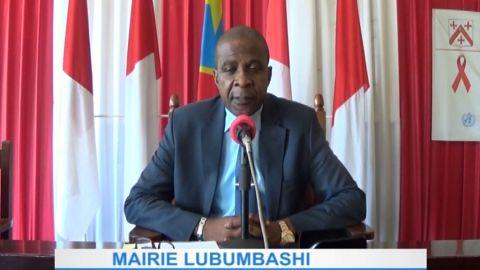 le maire de Lubumbashi, Jean Oscar Sanguza Mutunda