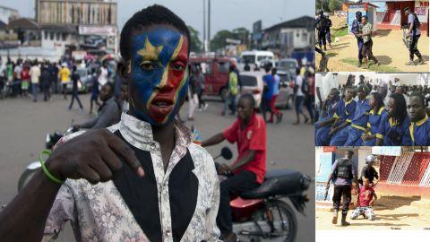Jeunesse de la RDC et membres de la LUCHA