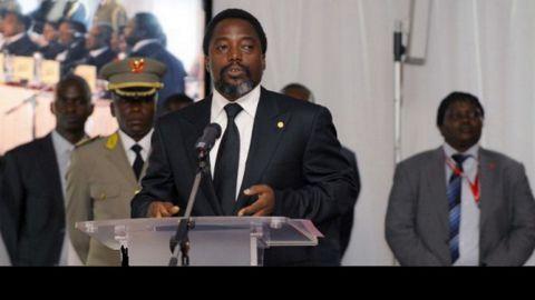 oseph Kabila, président de la RDC, à Kinshasa, le 29 juin 2010