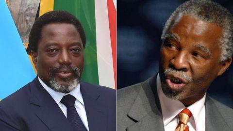Joseph Kabila, Thabo Mbeki