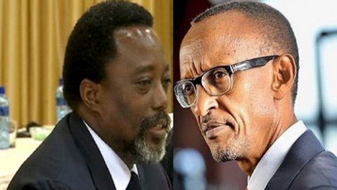 Joseph Kabila et Paul Kagame