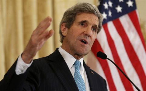 Secretaire d'Etat Americain John Kerry
