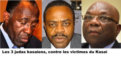 Raymond Tshibanda, Oly Ilunga et Francois Balumwene