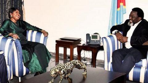 Mme Bensouda et Joseph Kabila