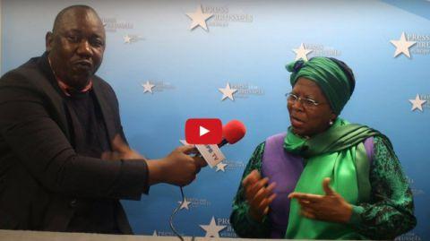 Justine Kasavubu sur le Dialogue Congolais