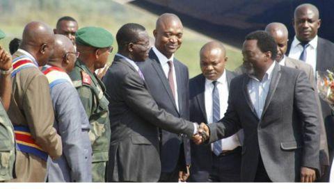 Joeph Kabila au Kasai