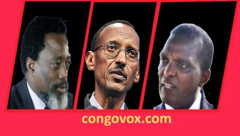Joseph Kabila, Paul Kagame, Azarrias Ruberwa