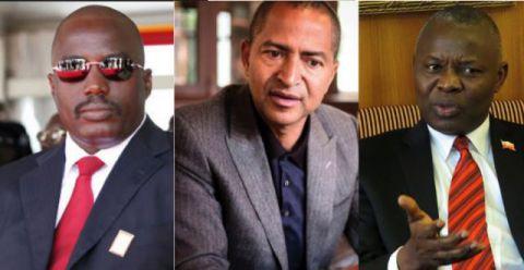 Joseph Kabila, Moise Katumbi et Vital Kamerhe