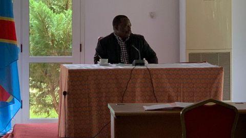 Joseph Kabila, à Kingankati
