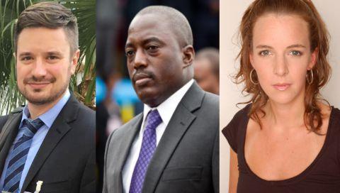 Michel Sharp, Joseph Kabila et Zaidan Catalan