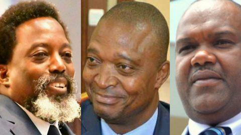 Le trio Kabila, Shadary, Nangaa