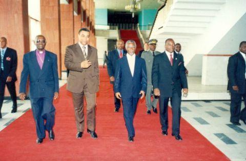 Olivier Kamitatu, Thambo Mbeki, Joseph Kabila