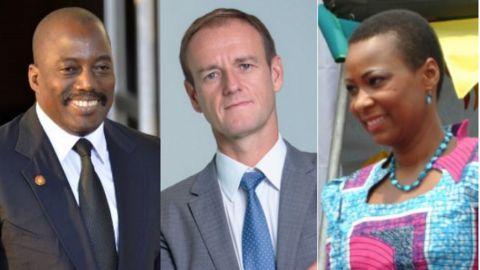 Joseph Kabila, Philippe Demoerloos, Olive Lembe Kabila