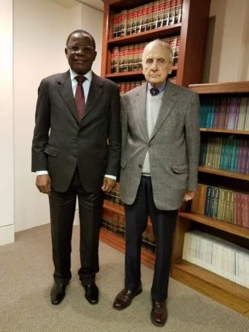 Maurice Kamto , Herman J. Cohen
