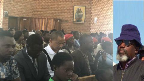 Moise Katumbi dans une Eglise a Ndola - Zambie au 05 Aout 2018