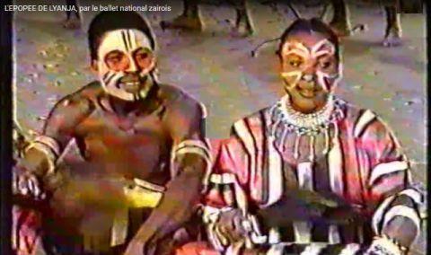 L'épopée de Lyanja, par le Ballet National Zairois (Congolais)