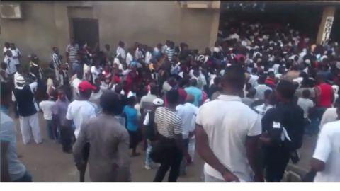 Les jeunes de Lubumbashi au procès de Moise Katumbi, 07-20-2017