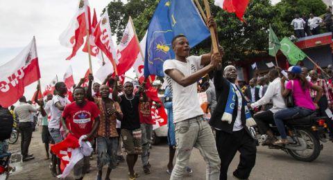 Manifestation a Kinshasa