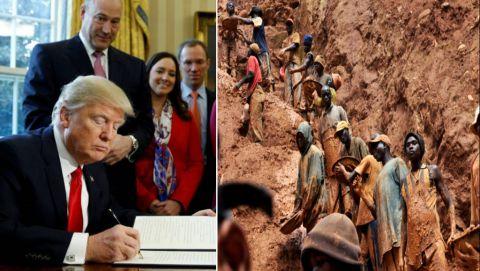 President Trump et Les Minerais de Conflits en RD Congo