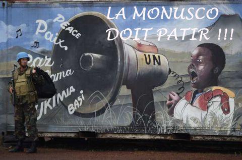 La MONUSCO DOIT PARTIR