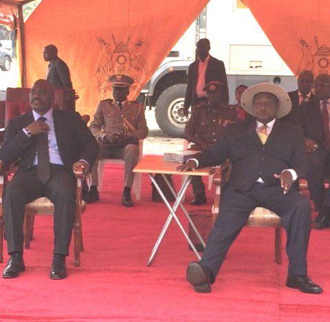 Joseph Kabila et Yoweri Museveni