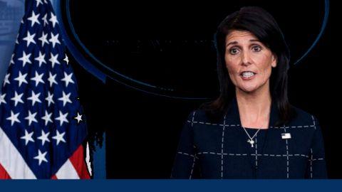 Ambassadeur Nikki Haley