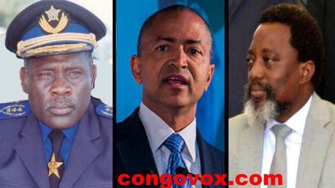 General John Numbi, Moise Katumbi, Joseph Kabila