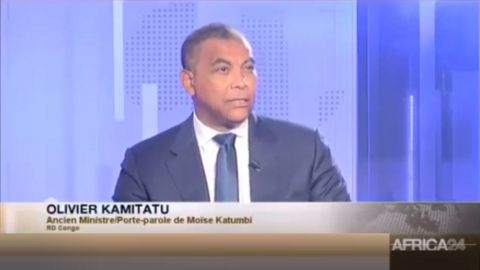 Olivier Kamitatu, Ancien Ministre /Porte Parole de Moise Katumbi