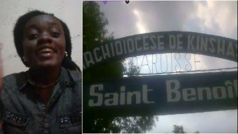 Gloria, Paroissiene de Satint Benoit de Lemba, Kinshasa, RDC