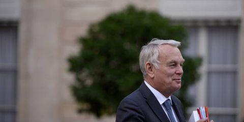 Le ministre français des Affaires étrangères, Jean-Marc Ayrault