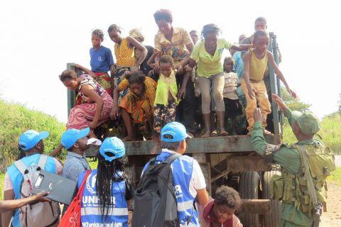 Refugies Congolais en Angola - 12 Mai 2017