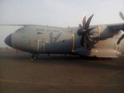 Hercule C-130 de la Royal Air Force britannique
